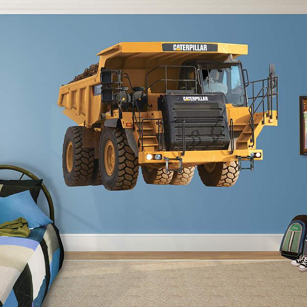 Caterpillar 773 Mining Truck Wall Mural Decal