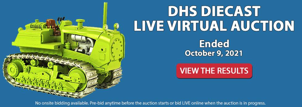 DHS Diecast Live Virtual Auction - October 9, 2021 10am EST