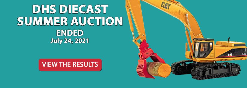 DHS Diecast Live Virtual Auction - July 24, 2021 10am EST