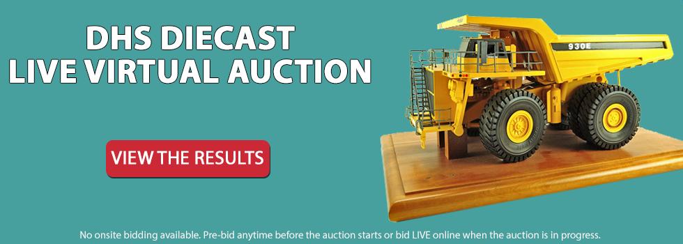 DHS Diecast Live Virtual Auction - July 25th 10am EST